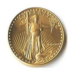 US American Gold Eagle Uncirculated Half Ounce 1986