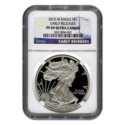 Certified Proof Silver Eagle PF69 2012 Early Releases