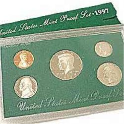 US Proof Set 1997