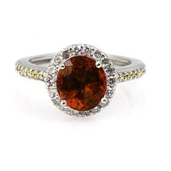 Genuine 2.20 ctw Garnet (Mozambique) Ring 14k