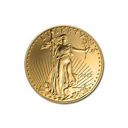 US American Gold Eagle Uncirculated Quarter Ounce