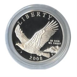 US Commemorative Dollar Proof 2008-P Bald Eagle