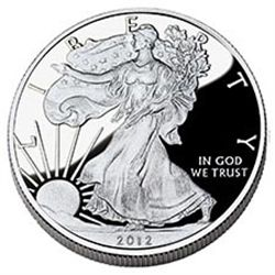 Proof Silver Eagle 2012-W