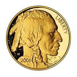 Proof Buffalo Gold Coin One Ounce 2006-W
