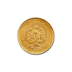 Mexico 2.5 Pesos Gold Coin