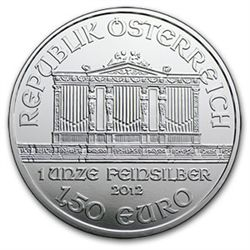 Austrian Philharmonic Silver One Ounce 2012
