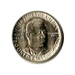 US Commemorative Half Dollar 1950-S Booker T Washington