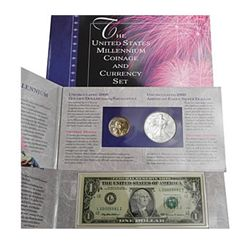 Coin & Currency Set Millenium 2000