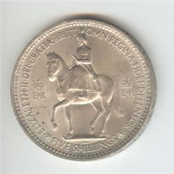 Great Britain 1 crown 1953, UNC