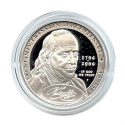 US Commemorative Dollar Proof 2006-P Ben Franklin Found