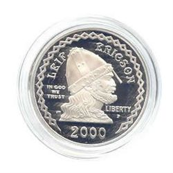US Commemorative Dollar Proof 2000-P Leif Ericson