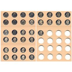 Proof Washington Quarter Set 1968-S to 1998-S (33pc.)