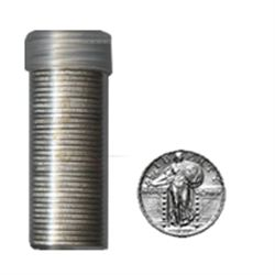 90% Silver Standing Liberty Quarters Roll (40pcs.)