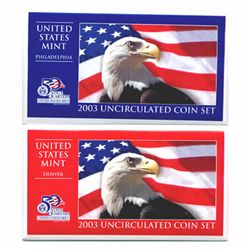 Uncirculated Mint Set 2003