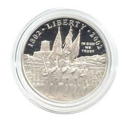 US Commemorative Dollar Proof 2002-P West Point