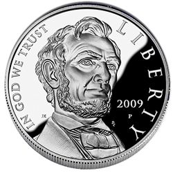 US Commemorative Dollar Proof 2009-P Lincoln
