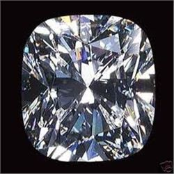 EGL CERT 1.53 CTW CUSHION DIAMOND I/VVS2
