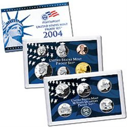US Proof Set 2004