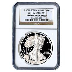Certified Proof Silver Eagle PF69 2011
