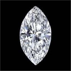 EGL CERT 0.64 CTW MARQUISE DIAMOND I/VS1