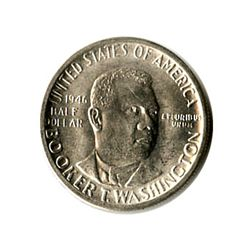 US Commemorative Half Dollar 1946-D Booker T Washington