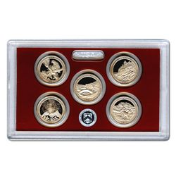 US Proof Set National Parks Quarters Without Box 2012
