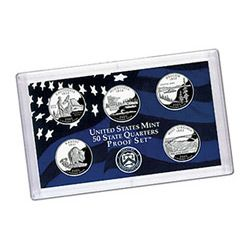 US Proof Set Statehood Quarters Without Box 2007