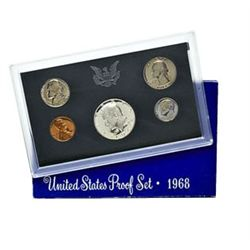 US Proof Set 1968