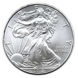 Uncirculated Silver Eagle 2010
