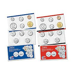 Uncirculated Mint Set 2004