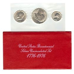 Uncirculated Mint Set 1976 S 3pc