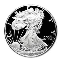 Proof Silver Eagle 2007-W