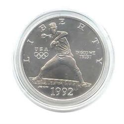 US Commemorative Dollar Uncirculated 1992-D Olympic