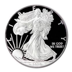 Proof Silver Eagle 2008-W