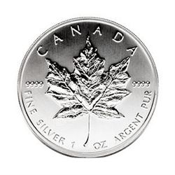 Canadian Silver Maple Leaf 1993