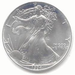 Uncirculated Silver Eagle 1994