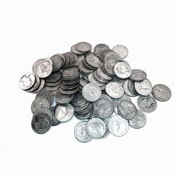 90% Silver Washington Quarters 100 pcs.