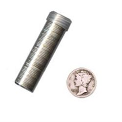 90% Silver Mercury Dimes Roll (50 pcs.)