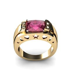 Genuine 2.80 ctw Ruby Ring 14k 4g,  RS 7