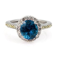 Genuine 2.6 ctw Topaz Ring 14Kt White Or Yellow  Gold