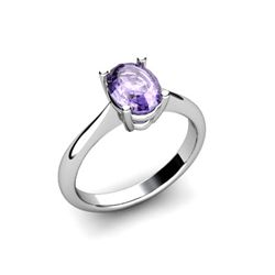 Genuine 0.48 ctw Tanzanite Ring 14k W/Y Gold