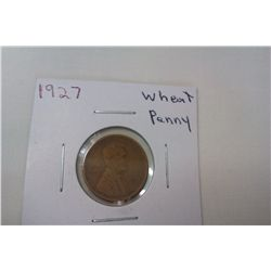 1927 XF Wheat Cent