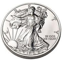 2012 Silver Eagle 1oz  .999 silver  * Rare MS High Grade *