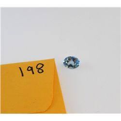 Dark Topaz Cut & Faceted 1.5 carat   ***Beautiful Stone***