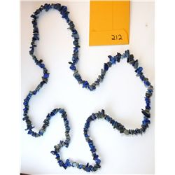 Natural Lapis Lazuli Chip Necklace