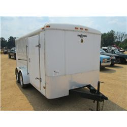 2013 CARGO KING T/A TAG ENCLOSED CARGO TRAILER, S/N ...