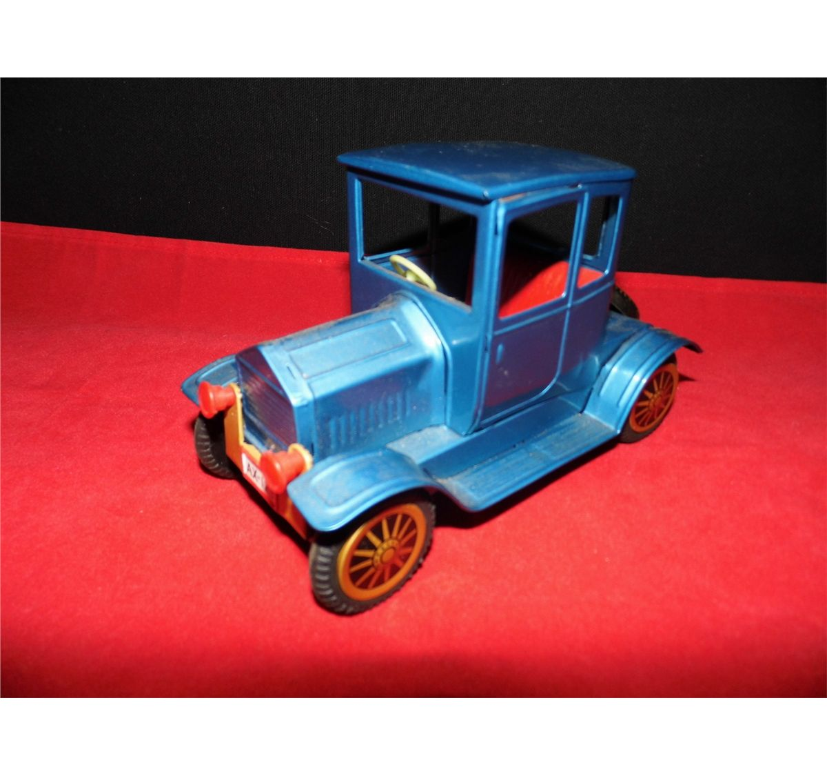 Car Made In Aluminum : Blue metal friction coupe car made in japan