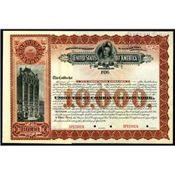 "U.S. Department of the Interior - ""Cherokee Outlet"" Cherokee Nation Bond"