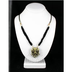 18.67GRAM INDIAN HANDMADE LAKH FASHION NECKLACE