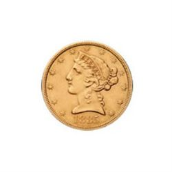$5 Liberty Extra Fine Early Gold Bullion